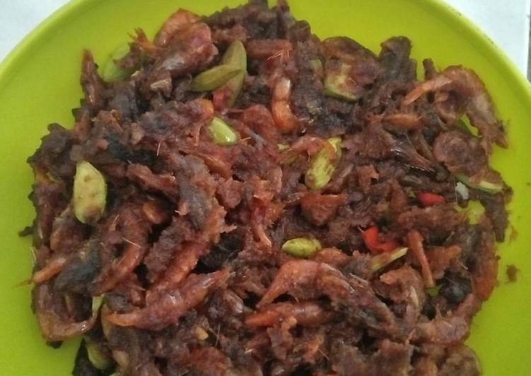 Resep: Sambal goreng ikan uceng enak
