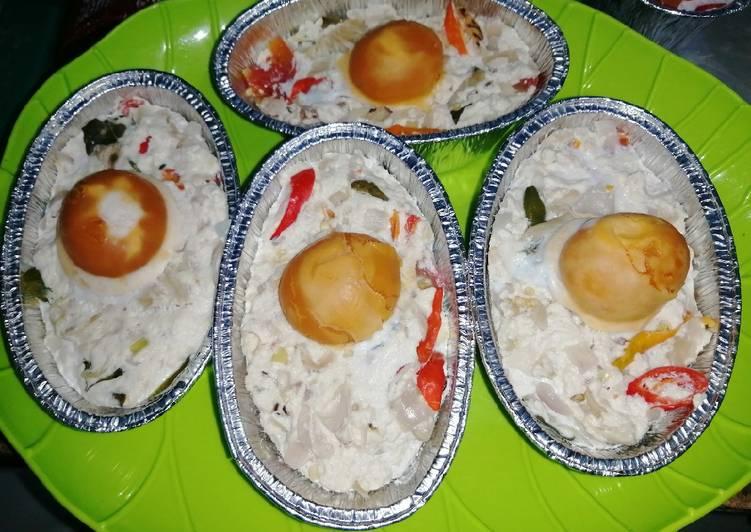 Resep: Bothok telur asin milineal enak