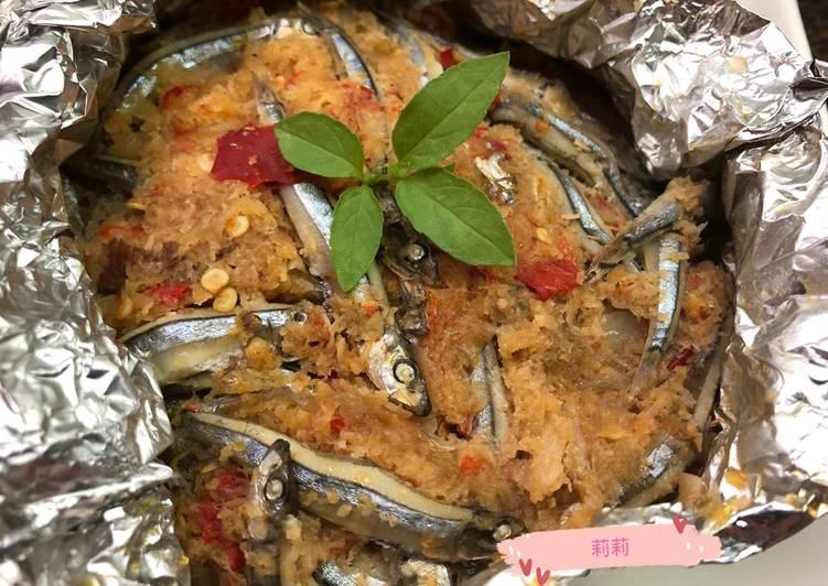 Resep: Bothok (pepes) teri segar
