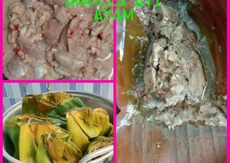 Cara membuat Bothok ampela ayam