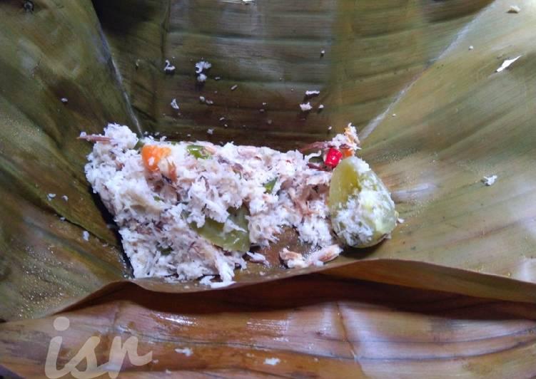 Resep: Bothok tanpa teri (ikan pindang) istimewa