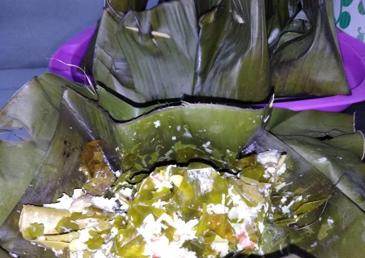 Cara Mudah membuat Bothok daun melinjo +Lamtoro enak