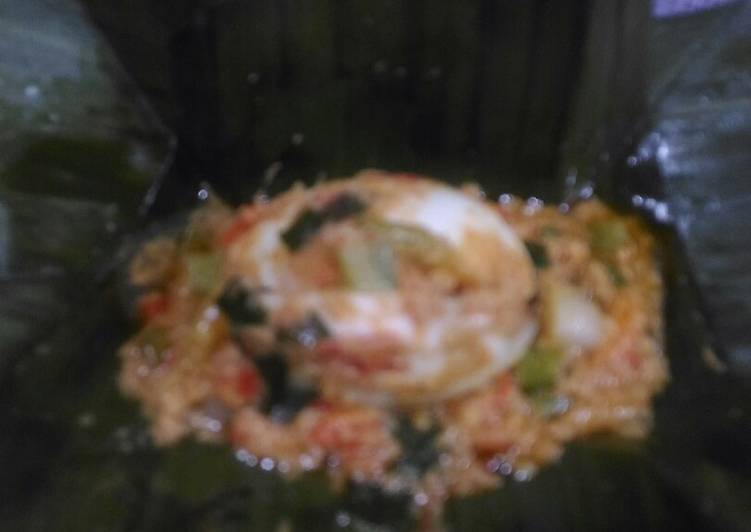 Cara Mudah mengolah Bothok telur lezat