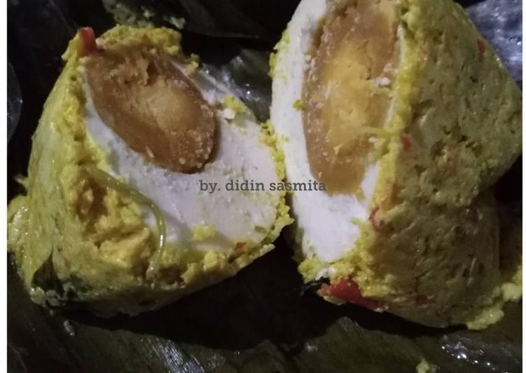 Cara Mudah memasak Bothok Telur Asin tanpa MSG