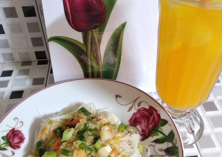 Cara Mudah memasak Urab Soun sambel kucur istimewa
