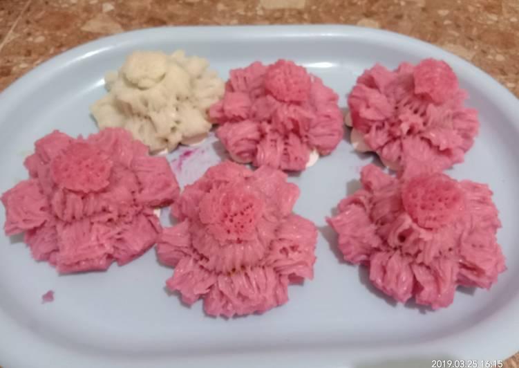 Resep: Bikang mawar lembut anti gagal