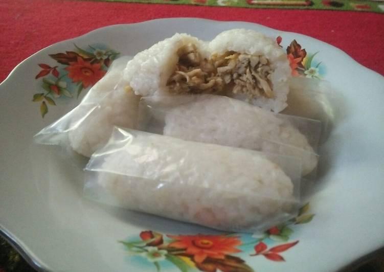 Cara Mudah memasak Lemper ayam rice cooker