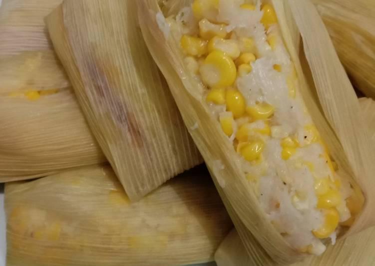 Cara memasak Lemet/Lapek jagung