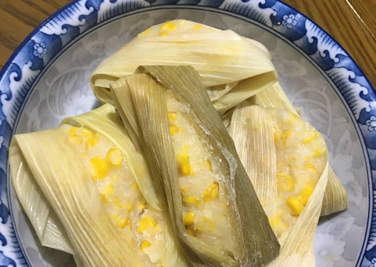 Resep & Cara membuat Lemet jagung manis