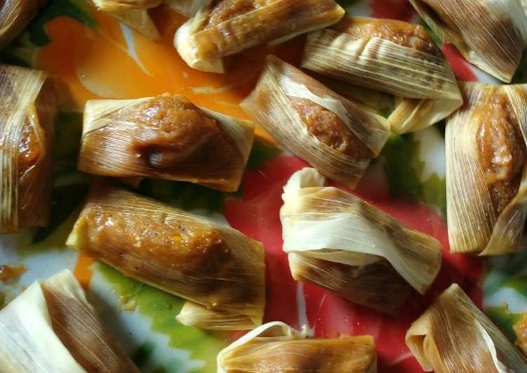 Resep: Lemet jagung gula merah