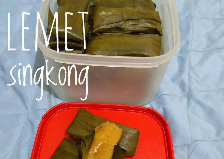 Resep membuat Lemet Singkong simple