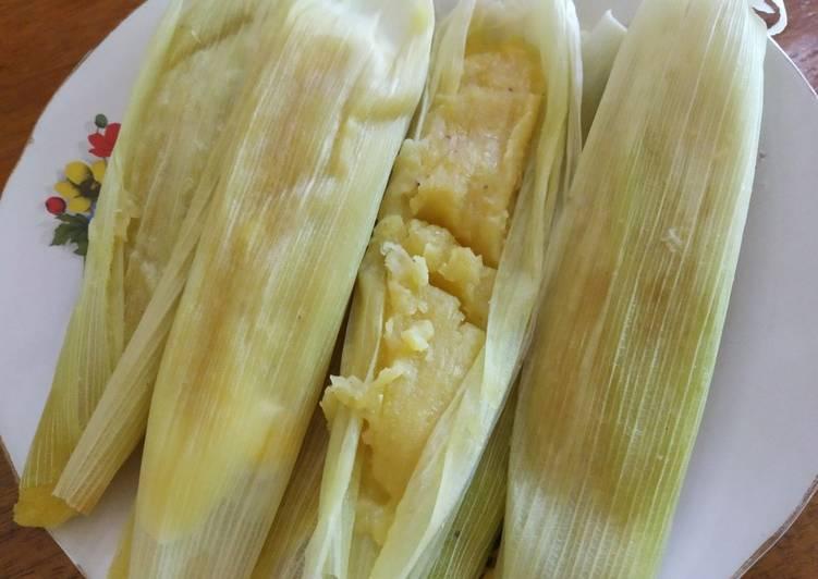 Resep mengolah Lemet jagung manis lembut dan enak