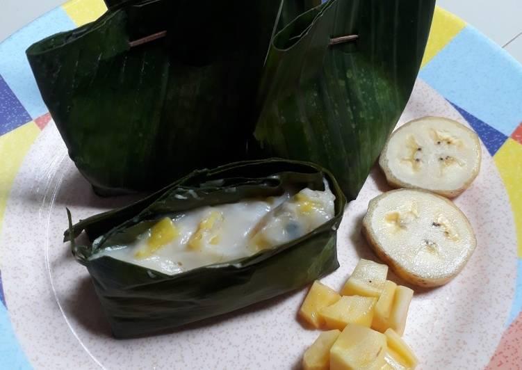 Cara Mudah mengolah Lemet nangka pisang lezat