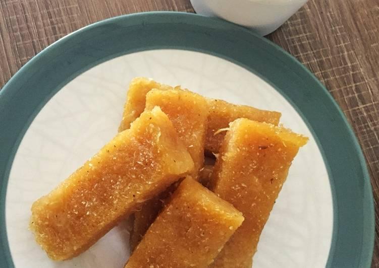 Resep: Lemet tanpa daun pisan