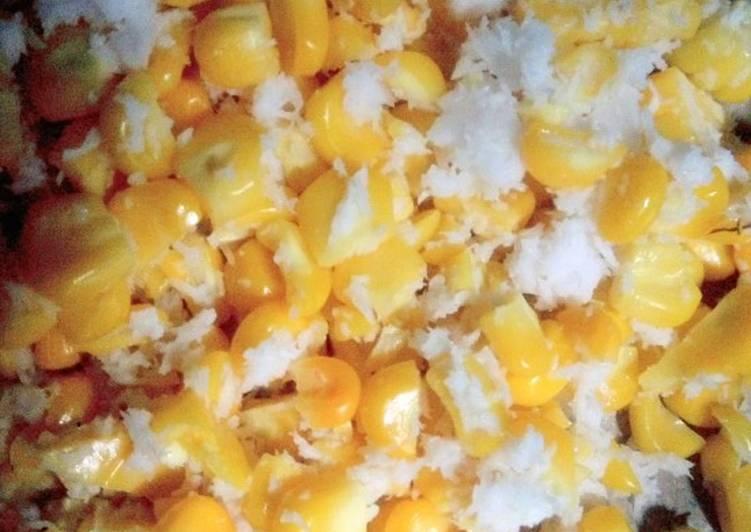 Cara Mudah membuat Blendung jagung simpel