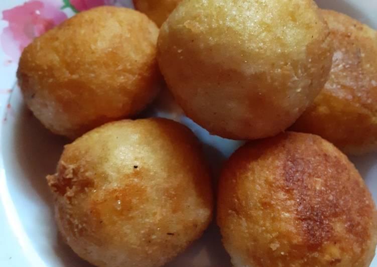 Resep: Jemblem/Singkong isi gula merah/Ondong-ondong