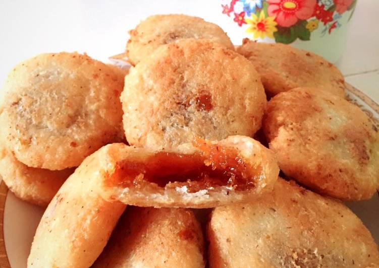 Resep membuat Singkong Gula merah aka jemblem istimewa