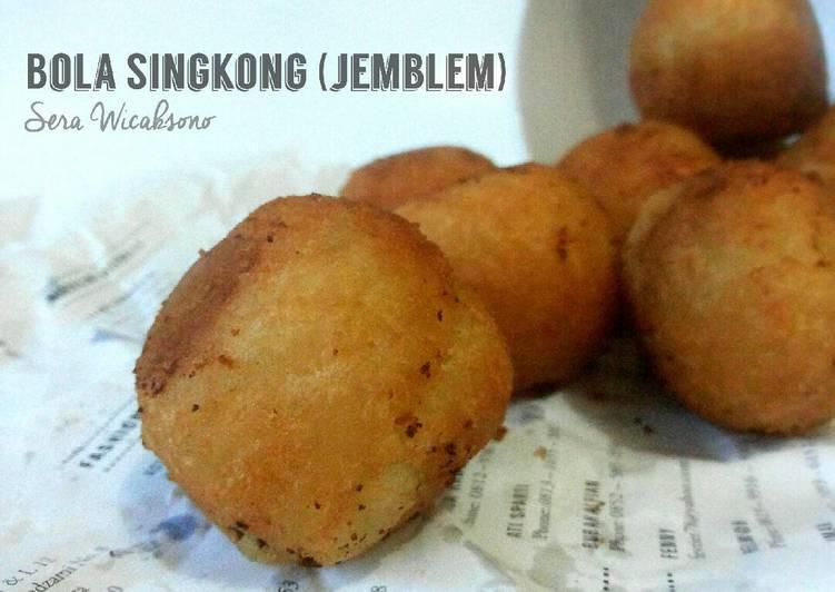 Resep: Bola Singkong (Jemblem keju) istimewa