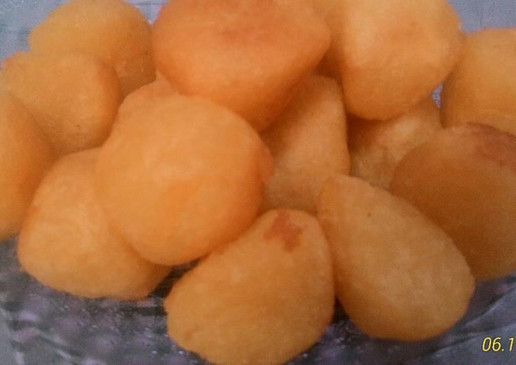 Resep membuat Ondol-ondol/jemblem tanpa isi istimewa