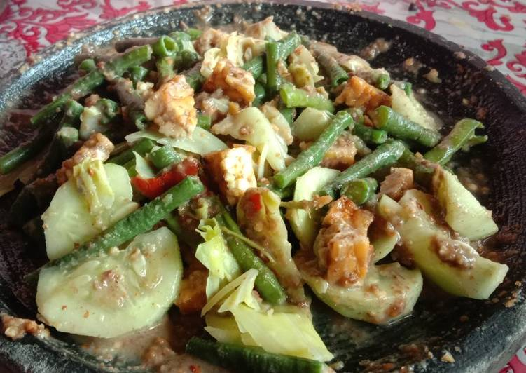 Rujak sayur