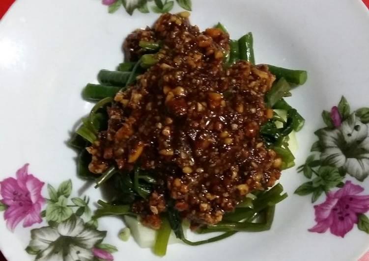 Resep membuat Rujak sayur enak
