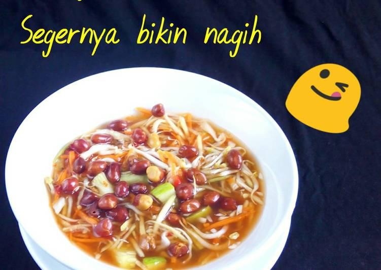Cara Mudah memasak Rujak cuka / asinan cuka / asinan buah dan sayur