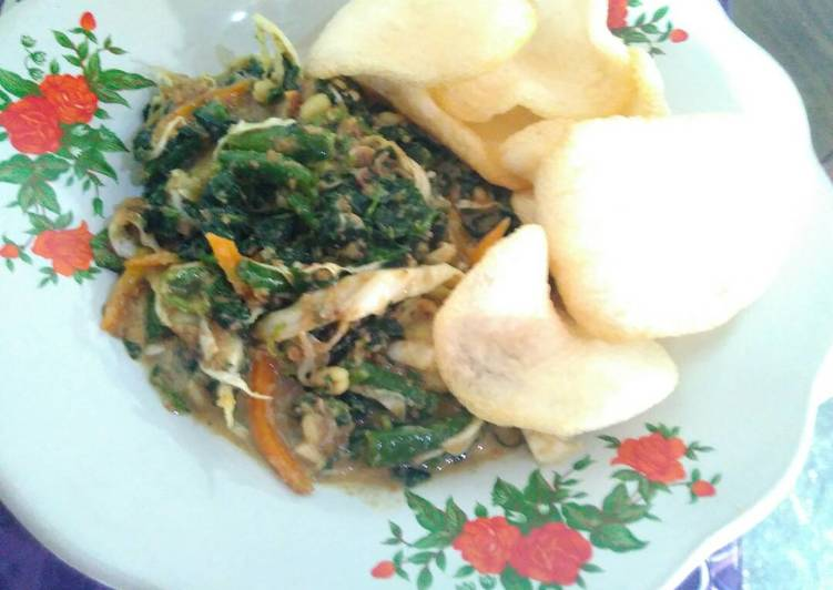 Resep: Lotek (rujak sayuran)