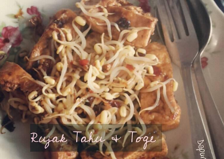 Resep: Rujak Tahu & Toge istimewa