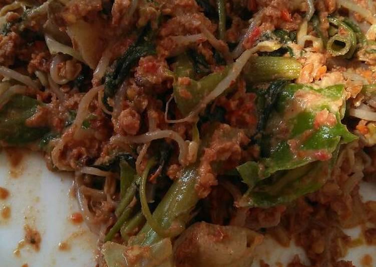 Resep: Rujak sayur
