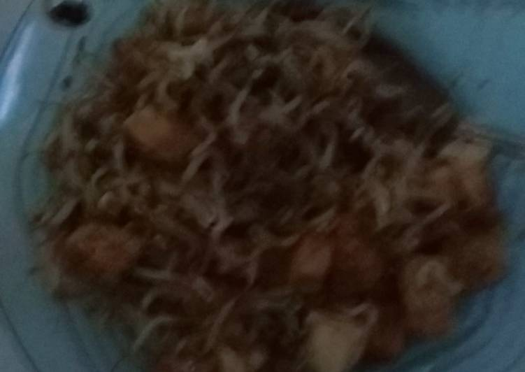 Resep memasak Rujak tahu toge