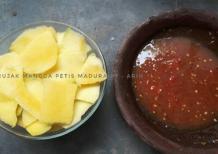 Resep memasak Rujak mangga petis madura