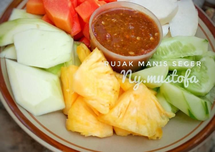 Resep memasak Rujak Manis Seger #rabubaru