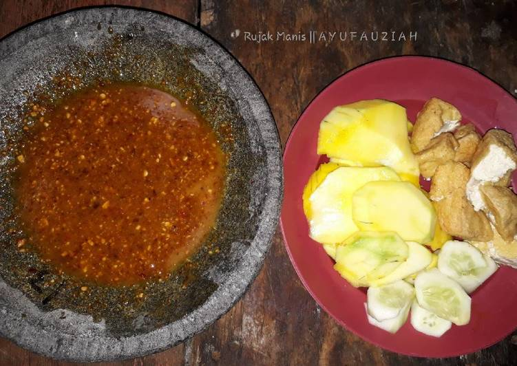 Resep: Rujak manis simple