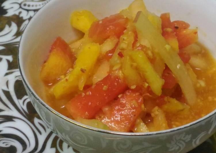 Resep: Rujak manis buah