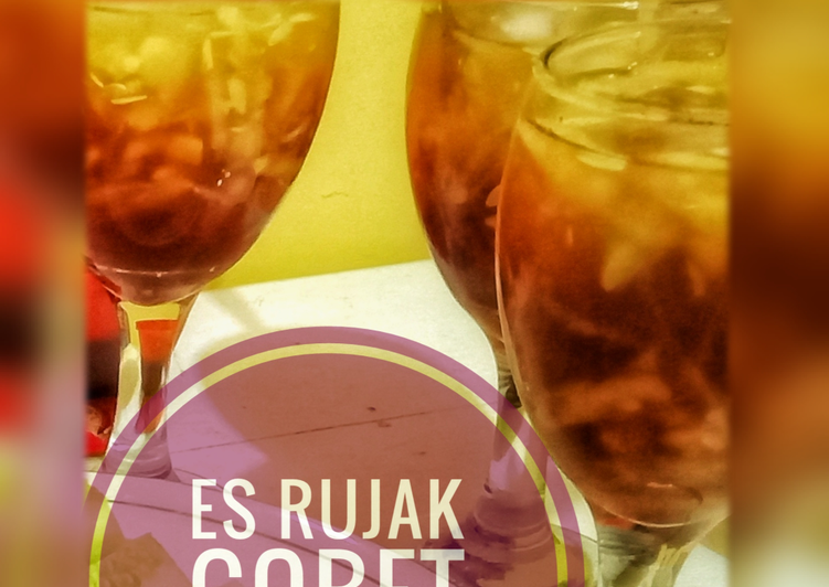 Resep: Es Rujak Gobet #bikinramadanberkesan enak
