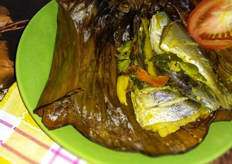 Resep memasak Pepes ikan Bumbu Isi