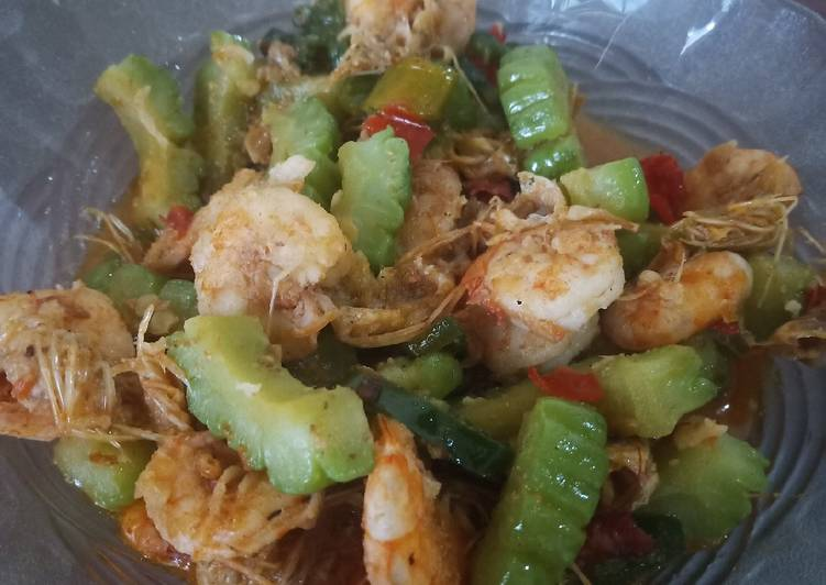 Resep: Tumis pare udang