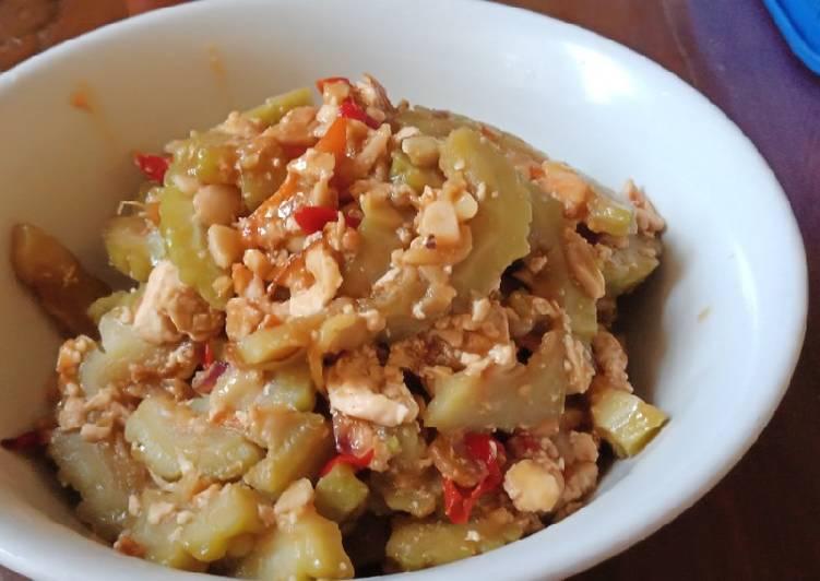 Resep memasak Sayur pare pedes level 2