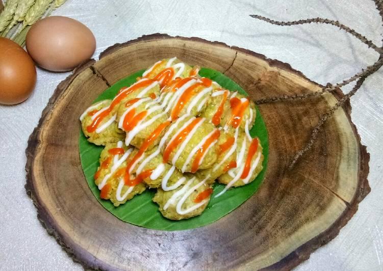 Cara Mudah memasak BOLA-BOLA MIE TELUR PARE (khas Pontianak Kalimantan Barat)