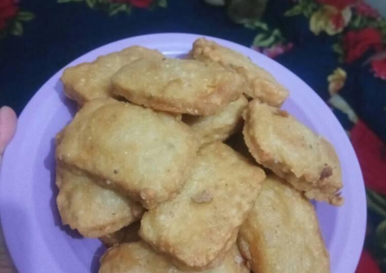 Resep: Tempe goreng tepung tetap garing walau sudah Berjam jam enak