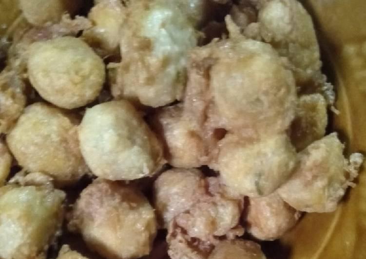 Cara membuat Cilok tempe goreng maknyus lezat