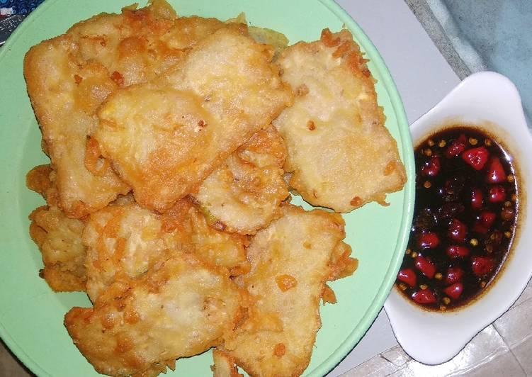 Resep memasak Tempe goreng tepung & sambel kecap