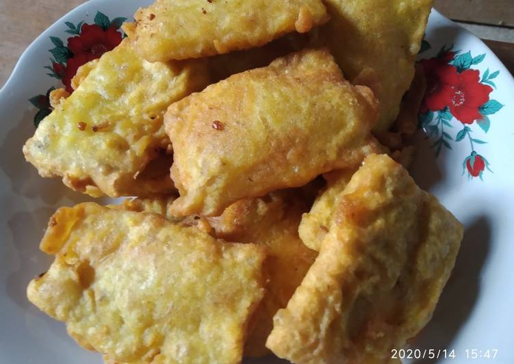 Resep: Tempe goreng tepung