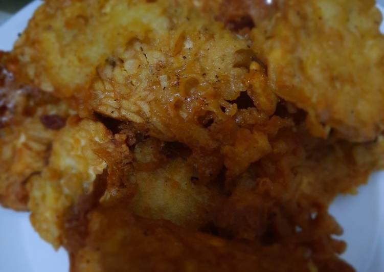 Cara memasak 11. Tempe goreng crispy