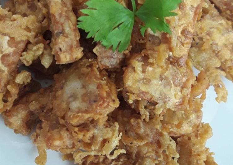 Resep: Tempe goreng rempah lezat