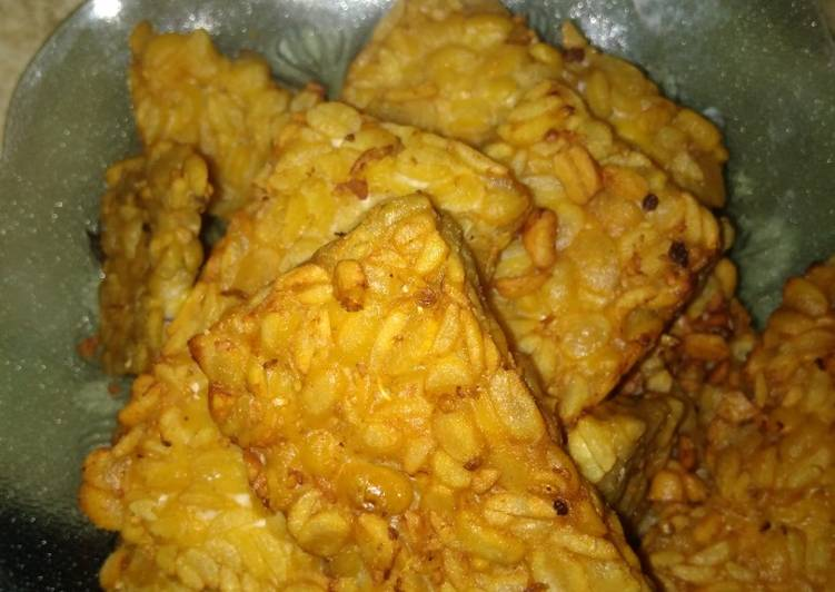 Resep: Tempe garit/ tempe goreng