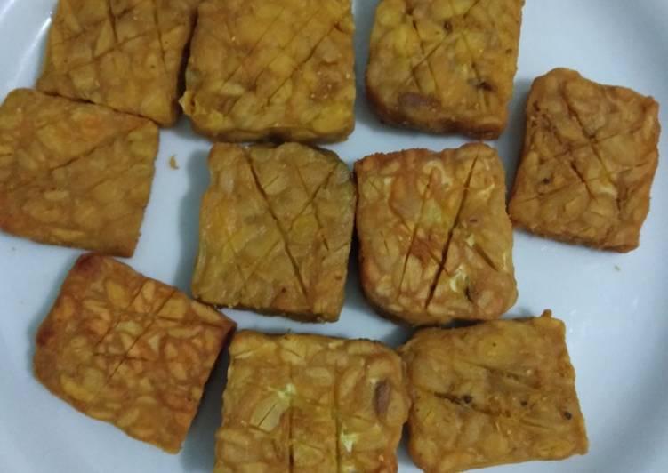 Resep memasak Tempe goreng Marinasi istimewa