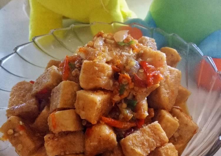 Resep: Tempe gembus masak pedas lezat
