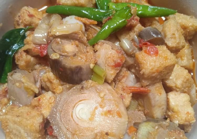 Resep memasak Sayur lompong tempe gembus huhah