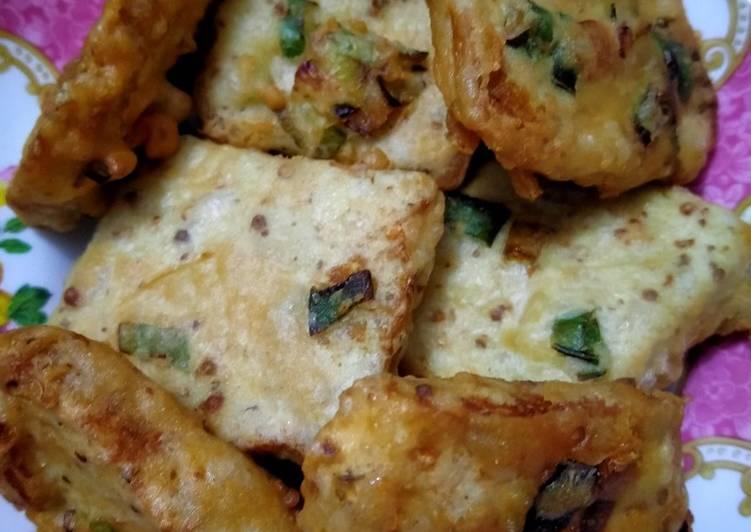 Resep: Tempe gembos goreng tepung lezat